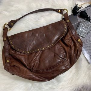 Leather Brown Lucky Bag